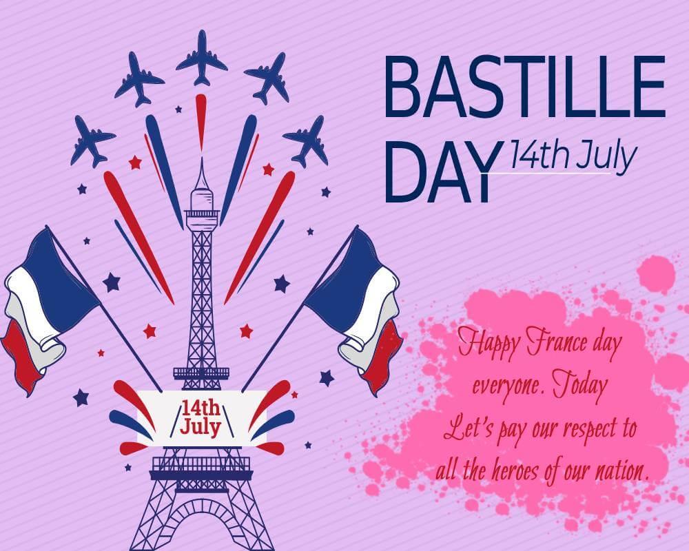 bastille day Greeting
