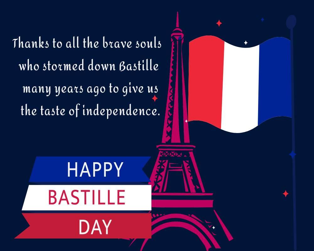 bastille day Status