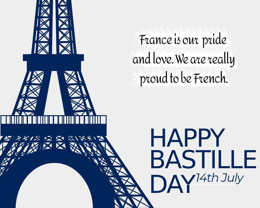 bastille day Wishes