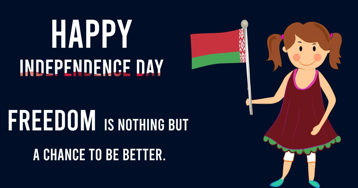 belarus independence day Text