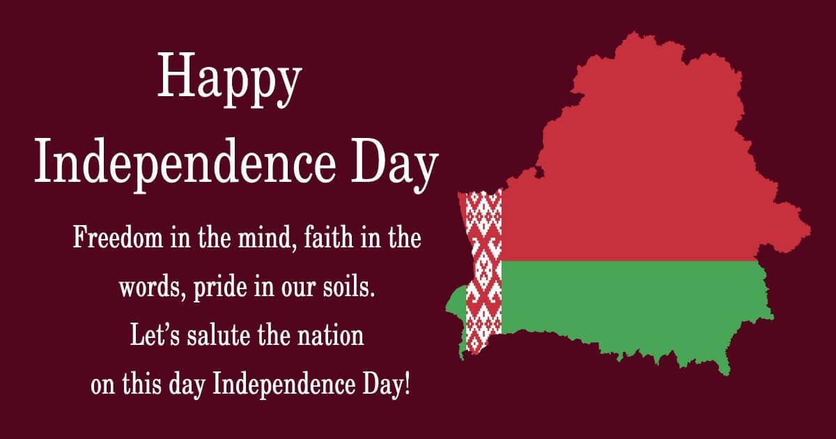 belarus independence day Status