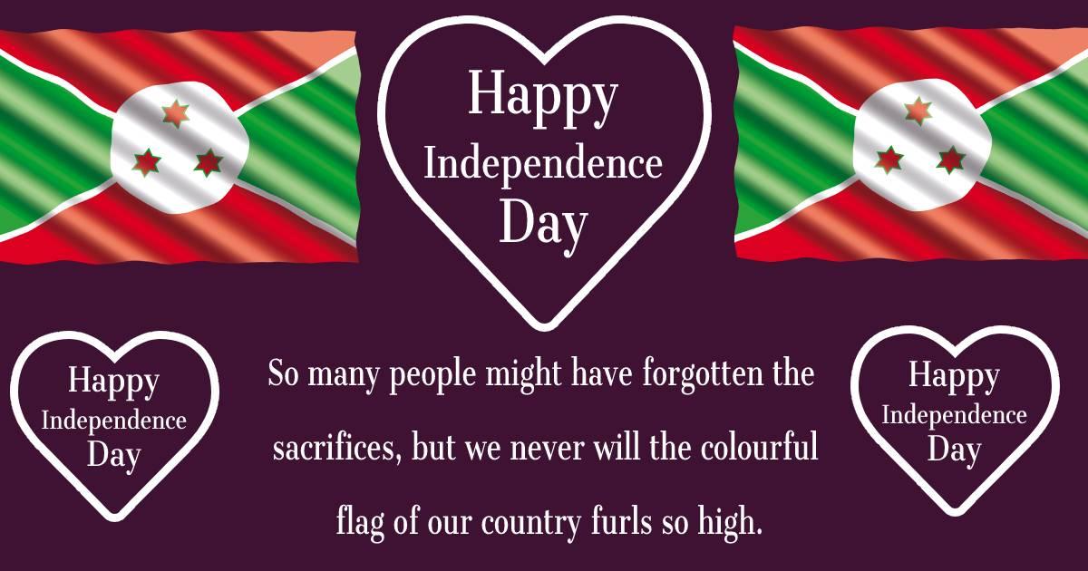 burundi independence day  Images