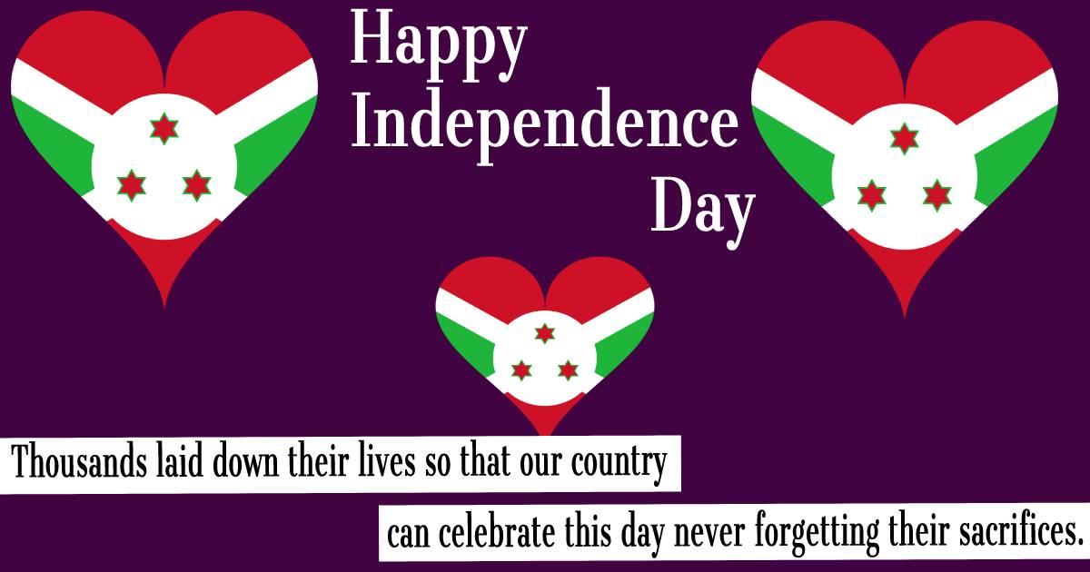 burundi independence day  Wallpaper