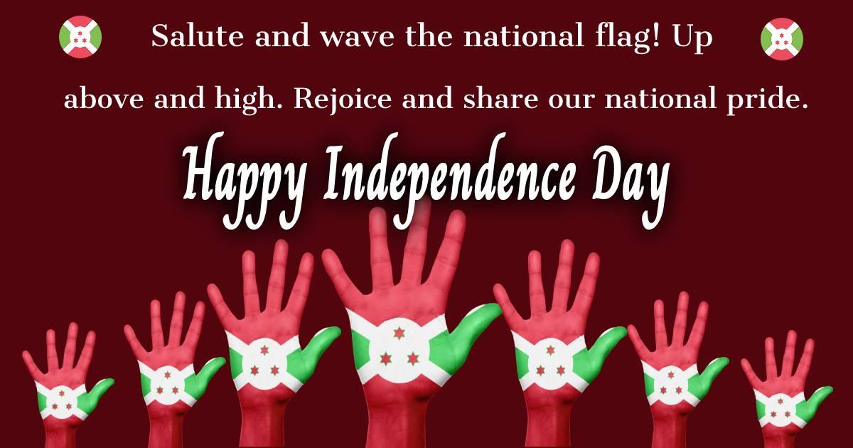 burundi independence day  Greeting