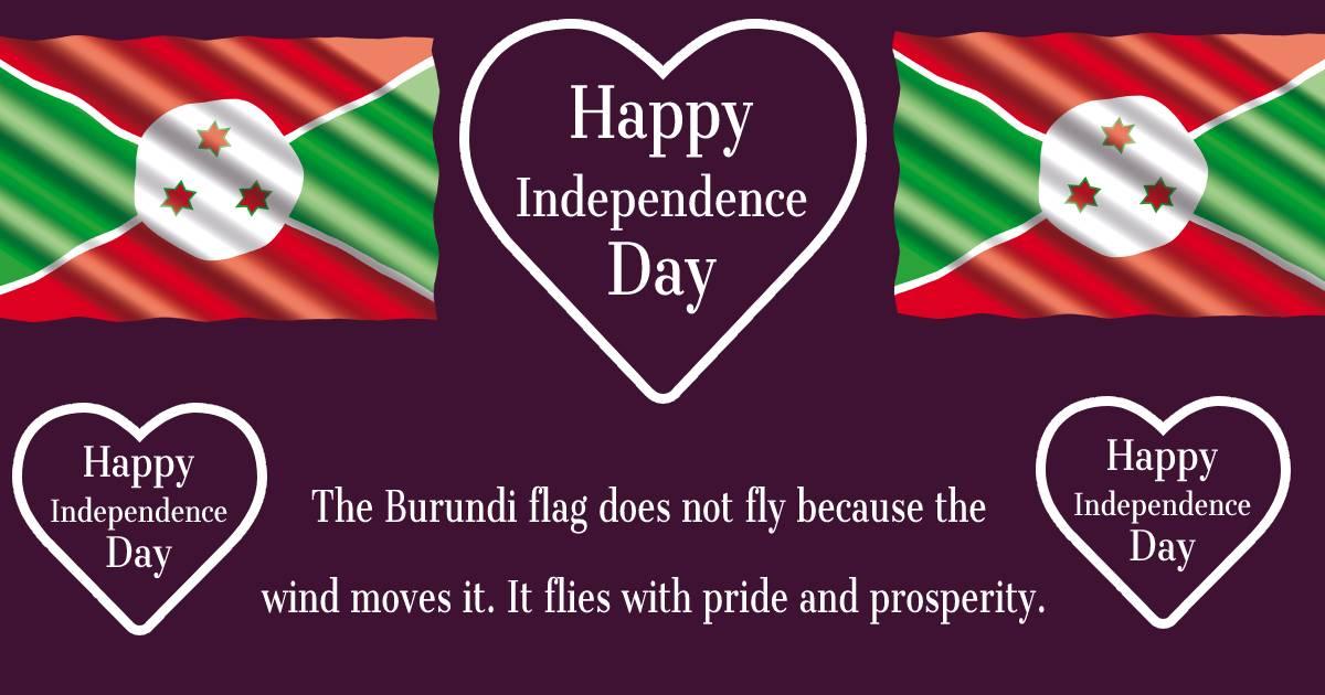 burundi independence day  Status