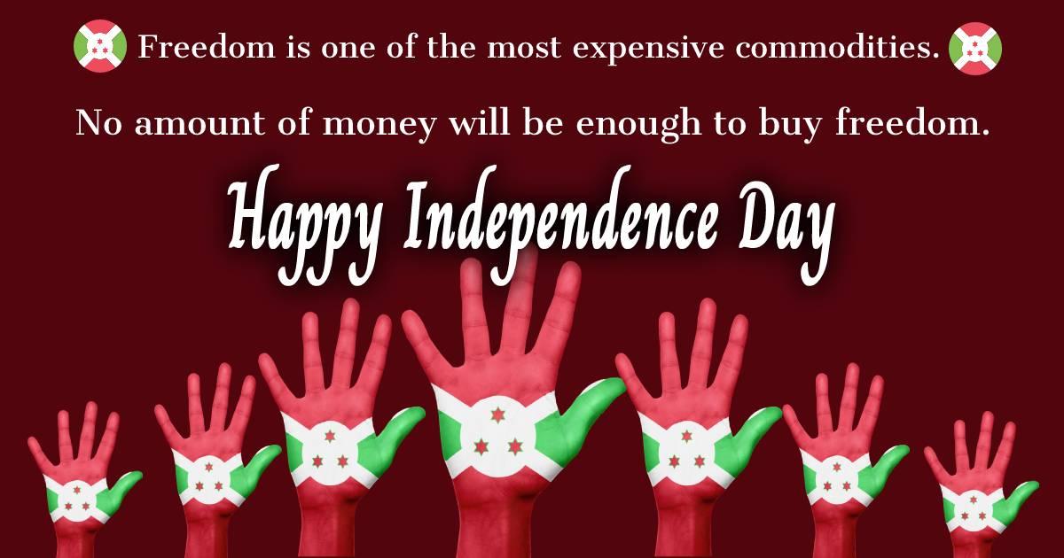 burundi independence day  Quotes