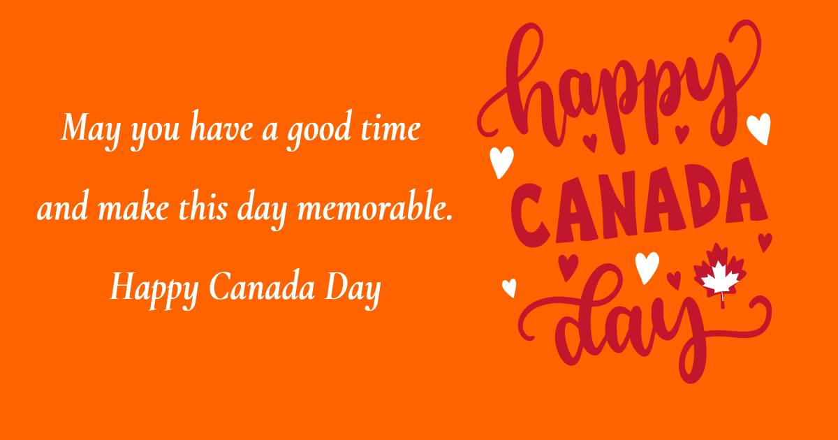 Best canada day Wishes