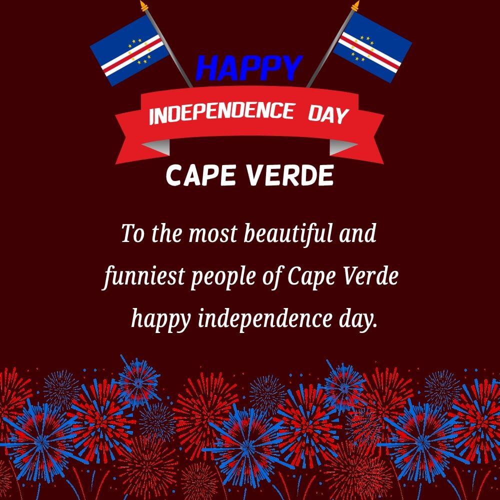 cape verde independence day Text