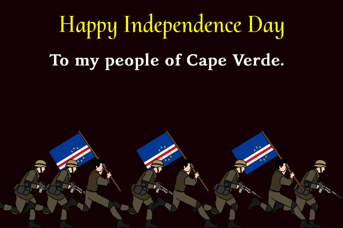 cape verde independence day Messages