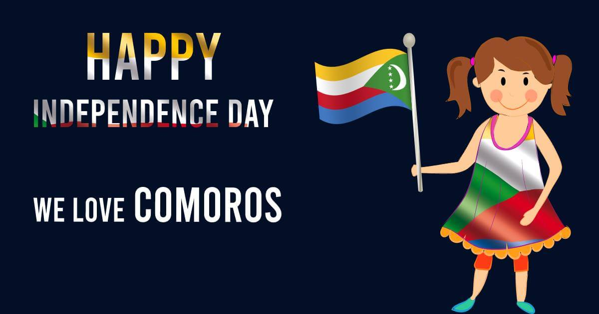 comoros independence day Messages