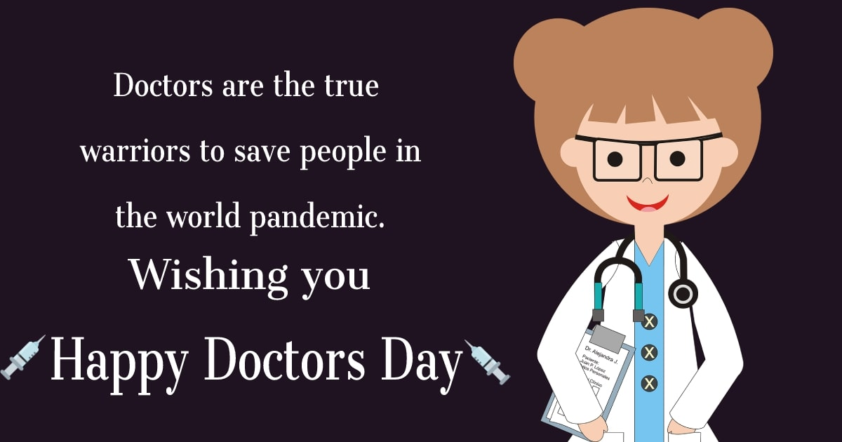 doctors day SMS
