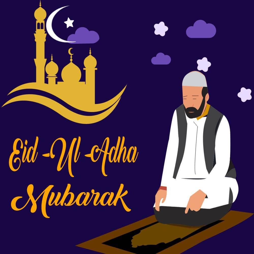 Eid al-Adha Wishes - 20th July 2021