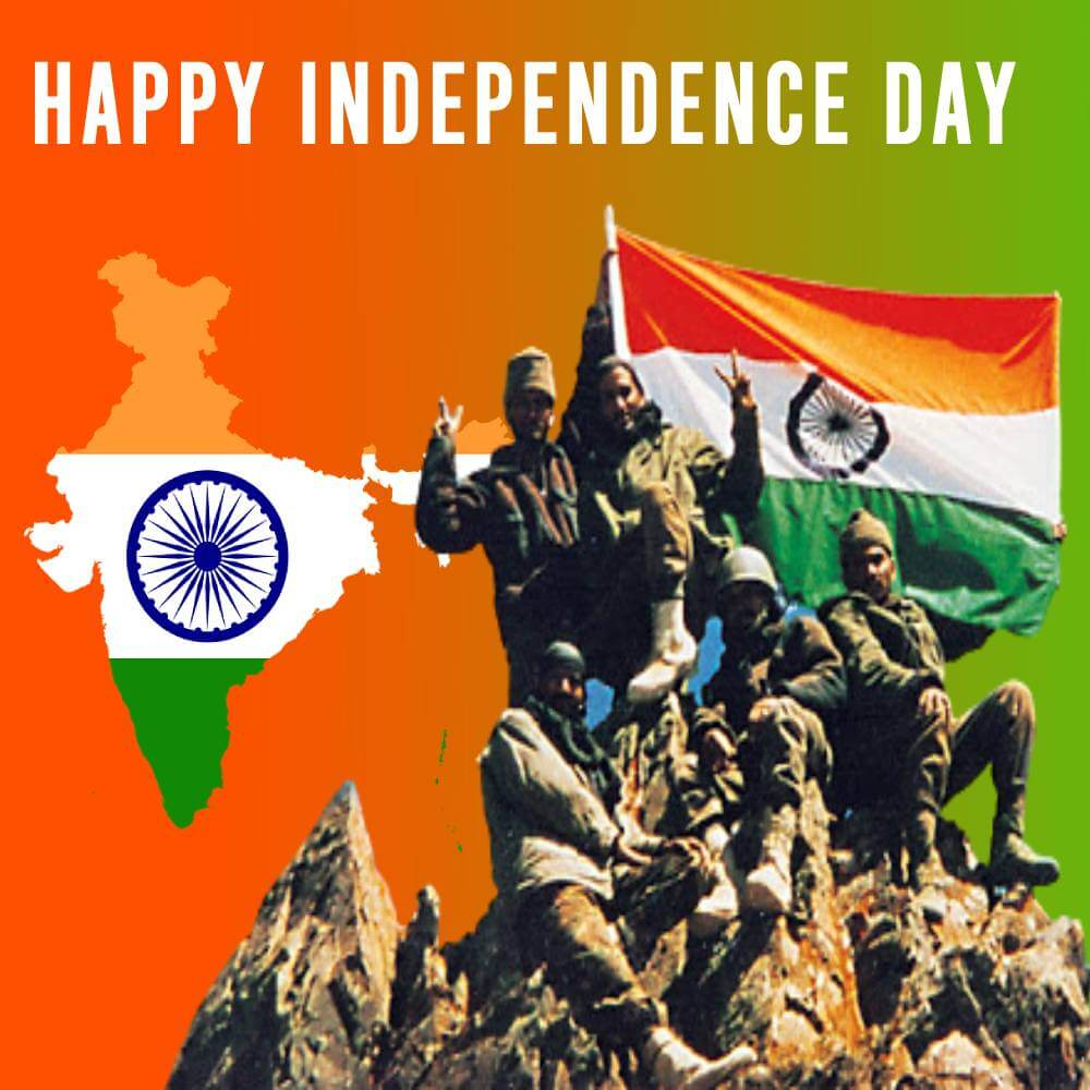 independence day - 15 august Status