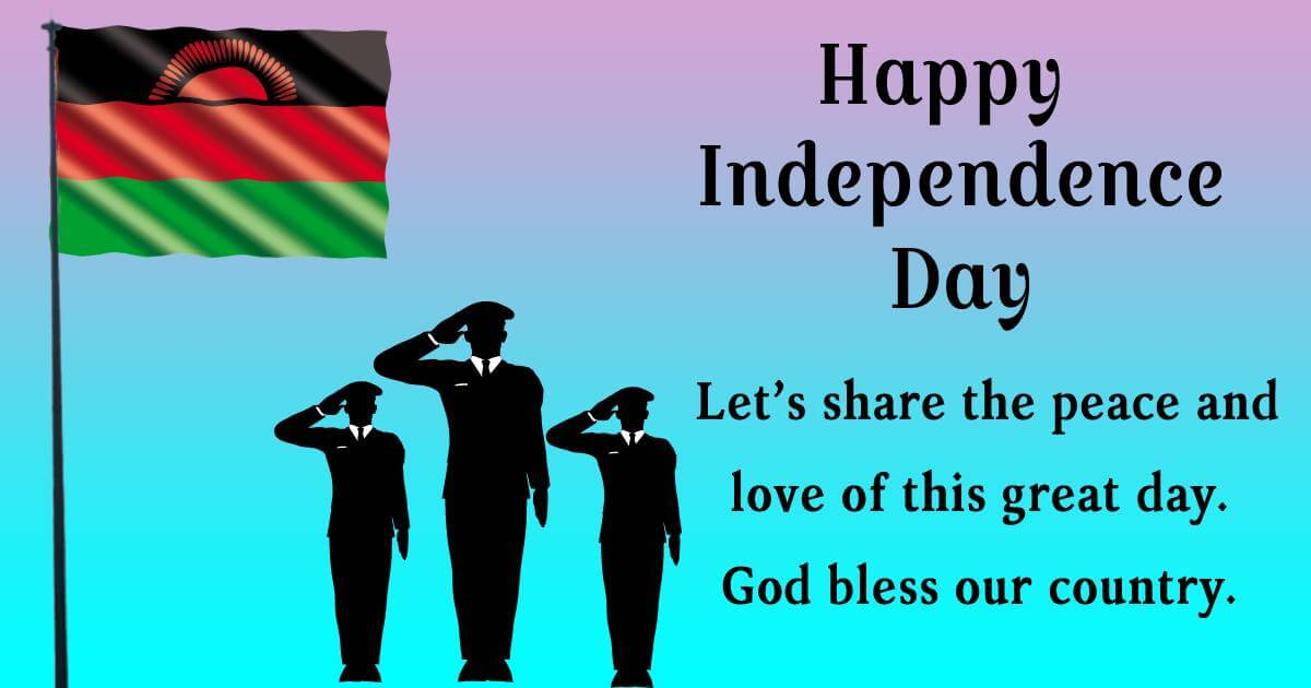 malawi independence day Text