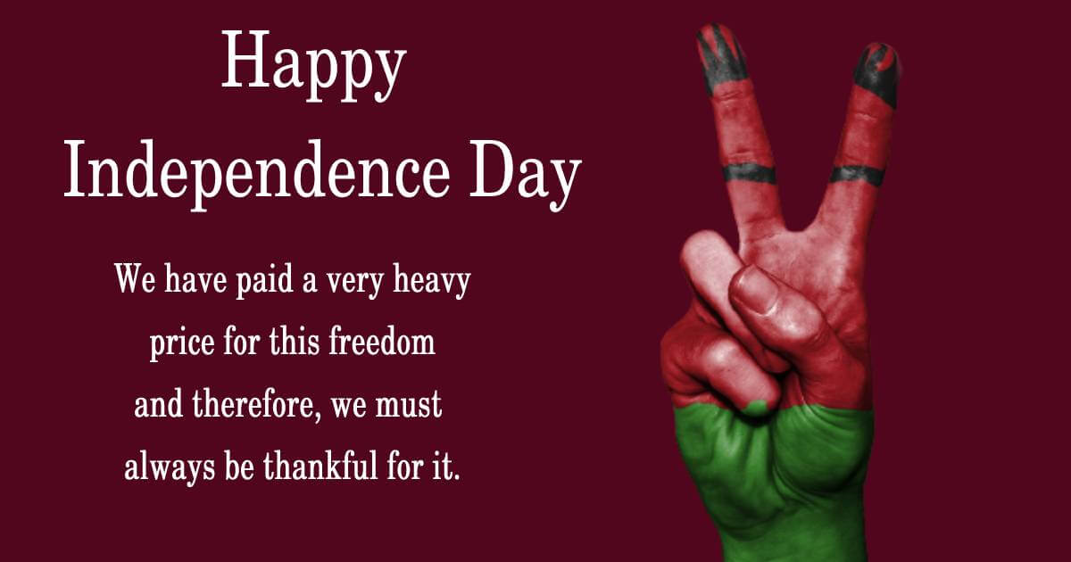 malawi independence day Greeting