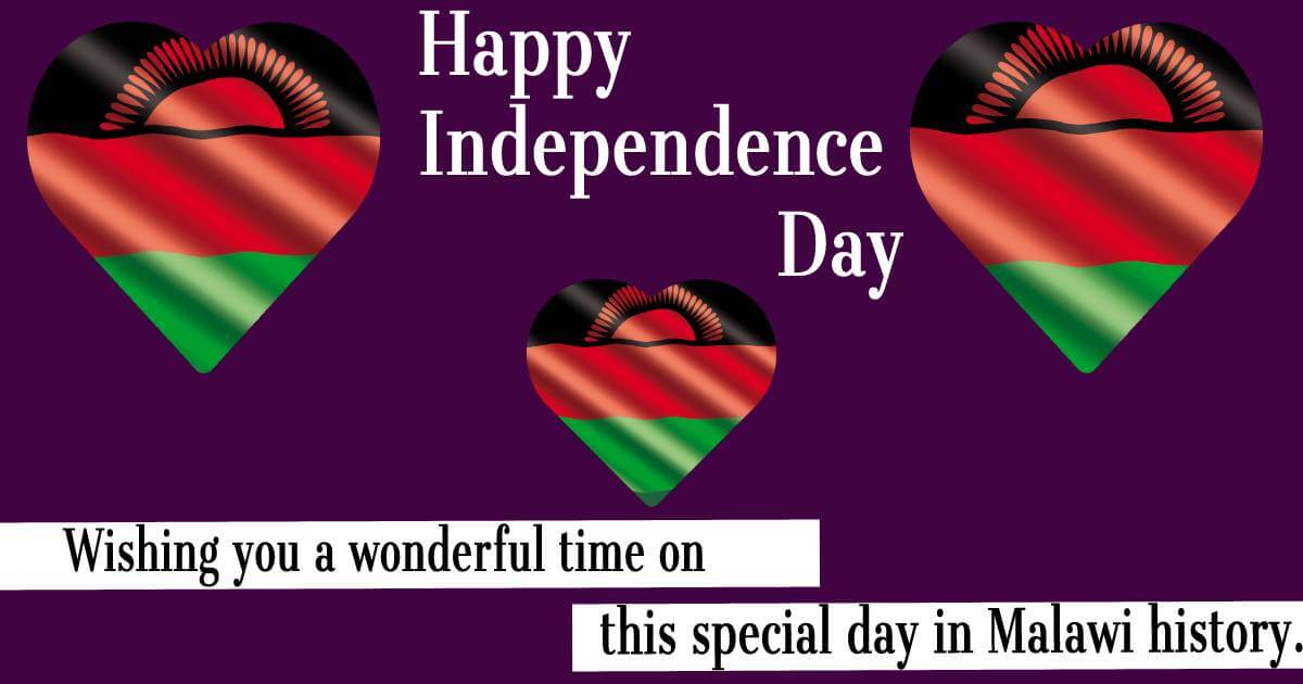 malawi independence day Messages