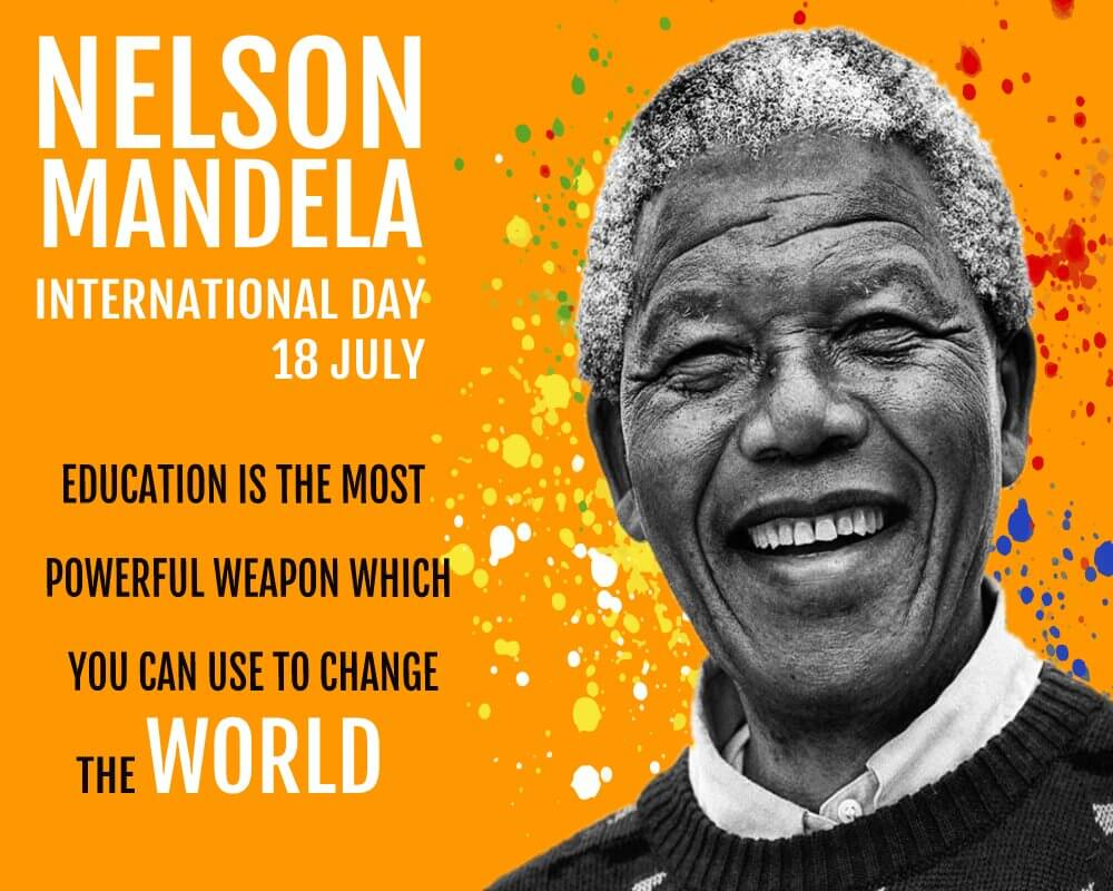 nelson mandela day Messages