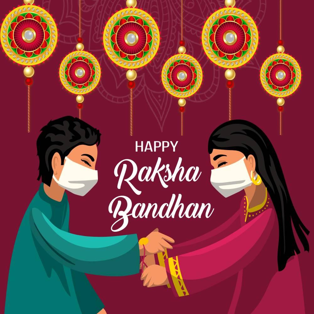 raksha bandhan in hindi Status