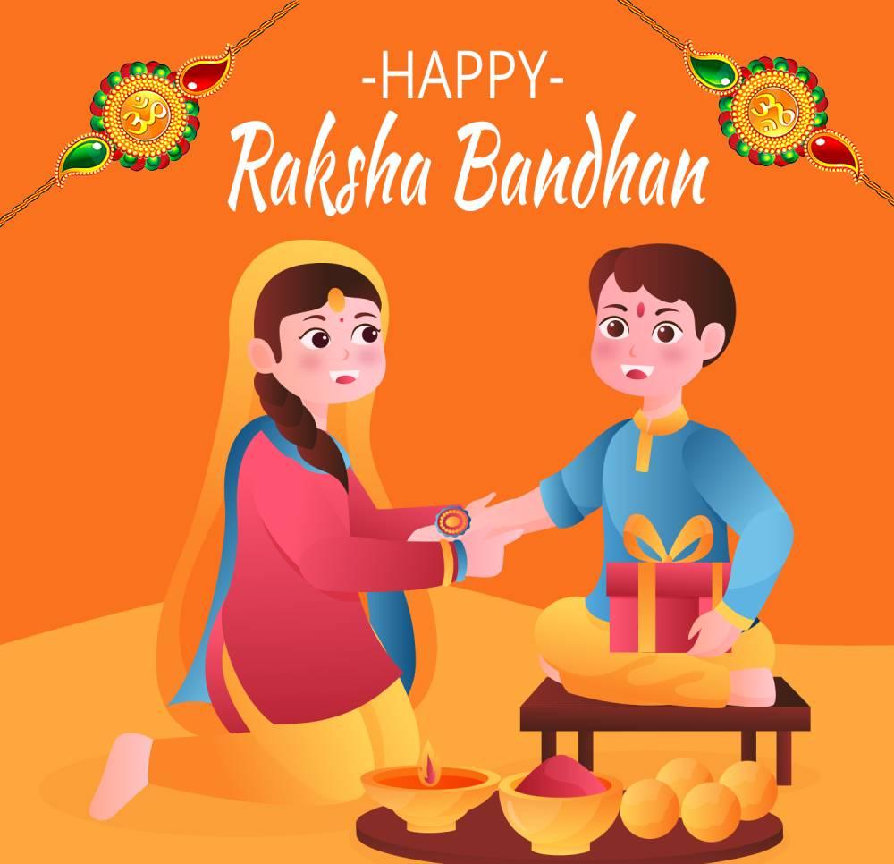 Best raksha bandhan in hindi Wishes