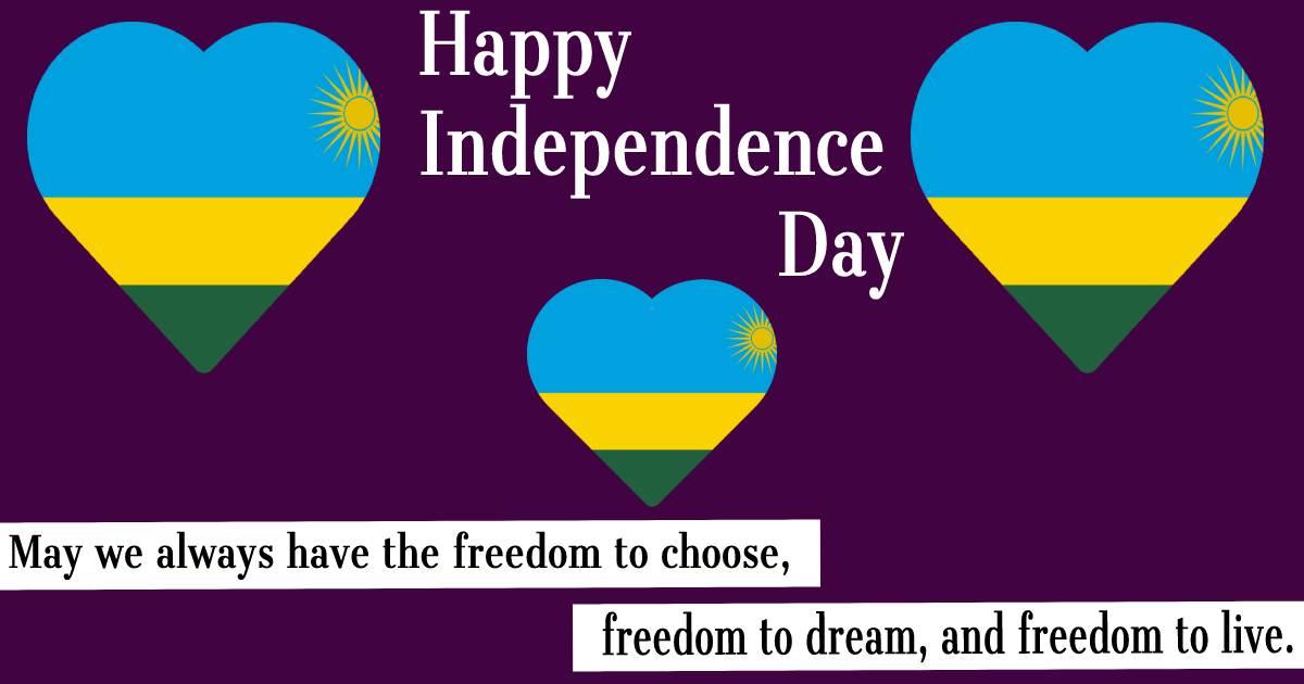 rwanda independence day  Images