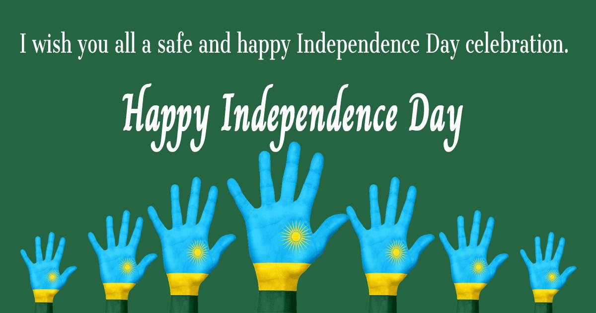 rwanda independence day  Greeting