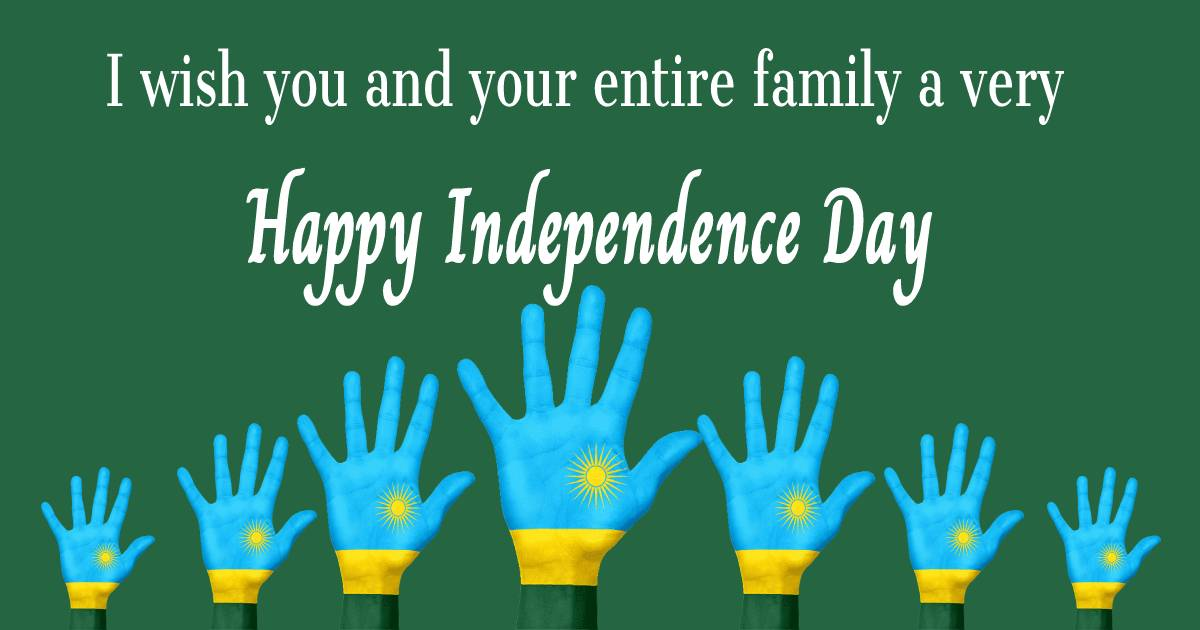 rwanda independence day  Quotes