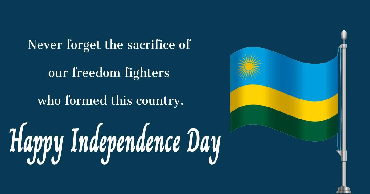 rwanda independence day  Wishes