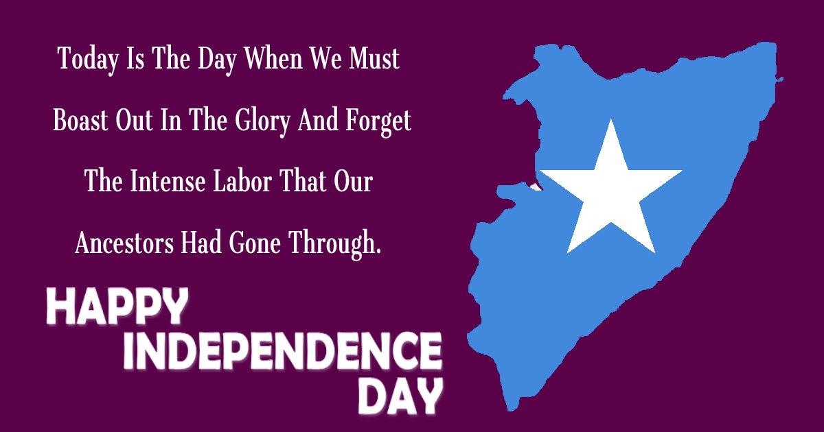 somalia independence day Greeting
