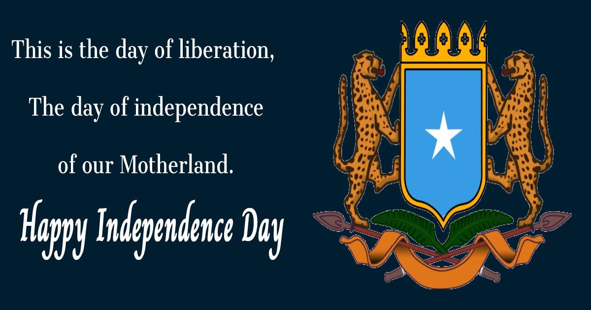 somalia independence day Status