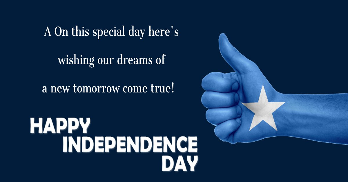 somalia independence day Messages