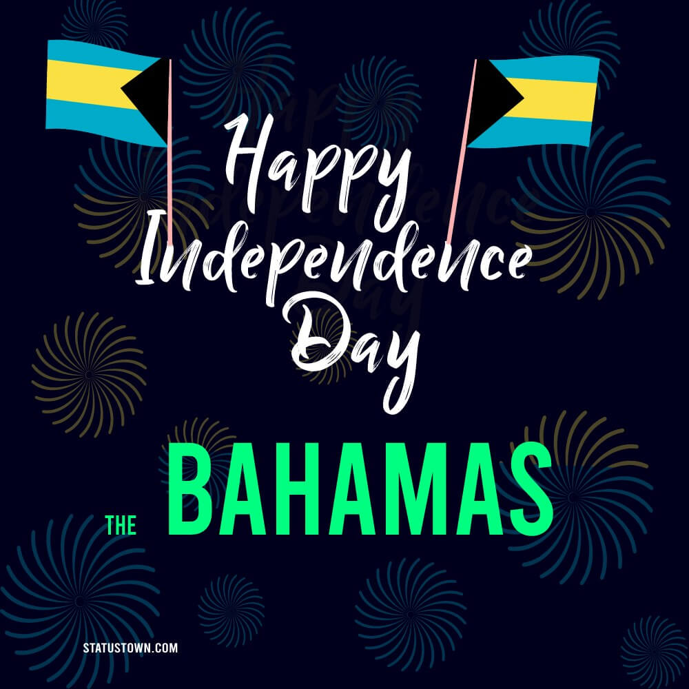 the bahamas independence day Text