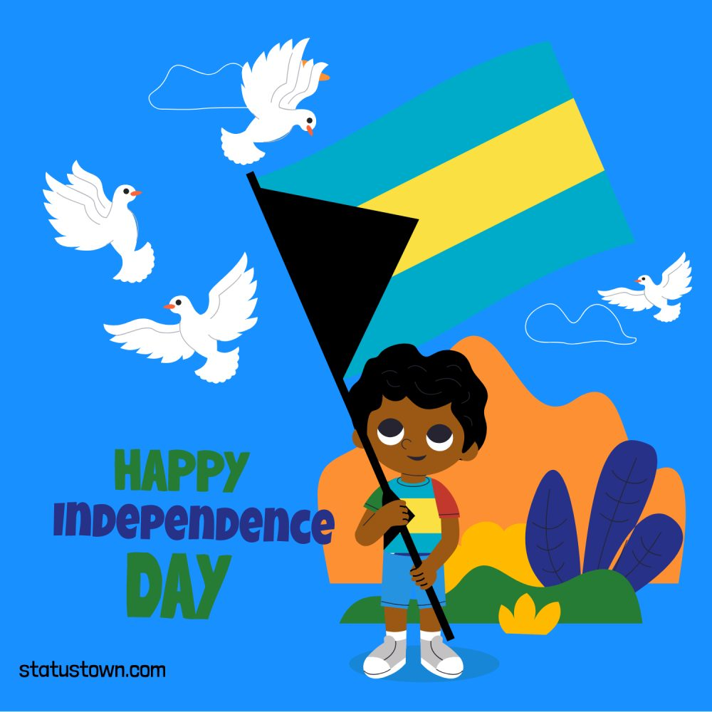 the bahamas independence day Greeting