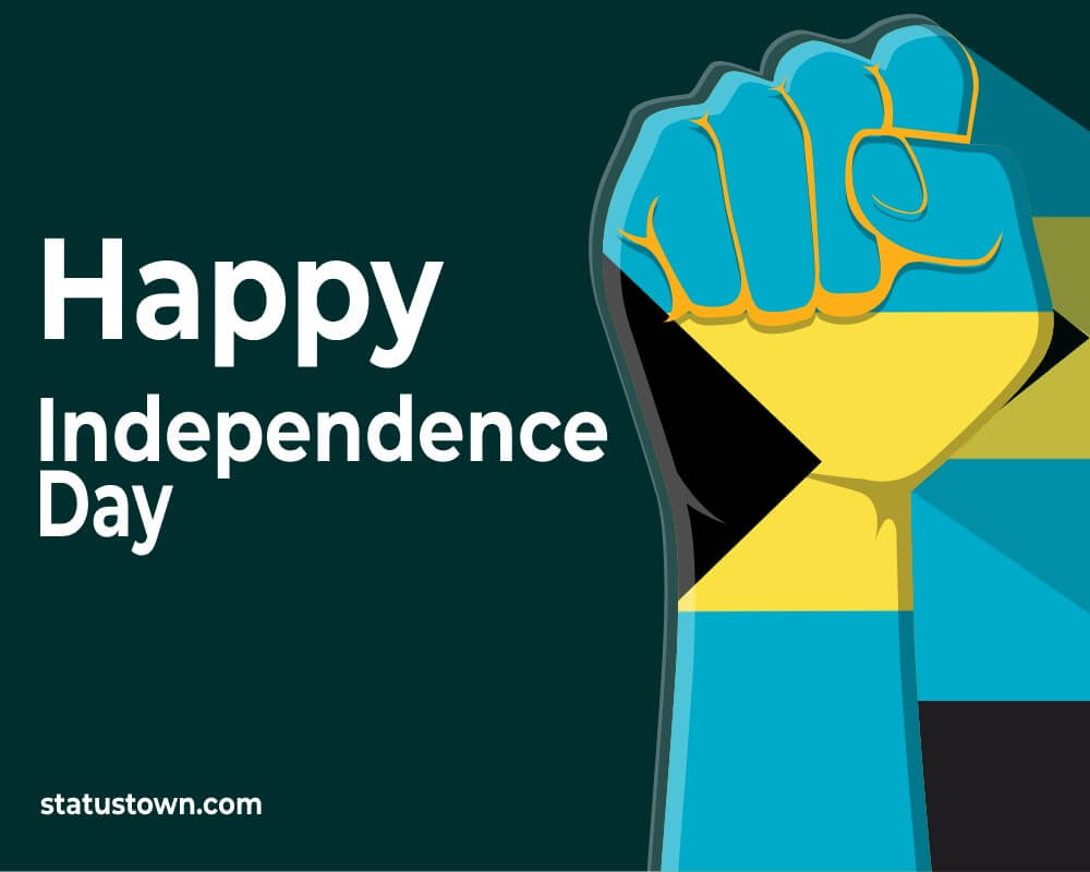 the bahamas independence day Messages