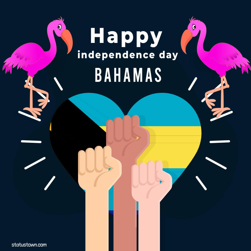 the bahamas independence day Wishes