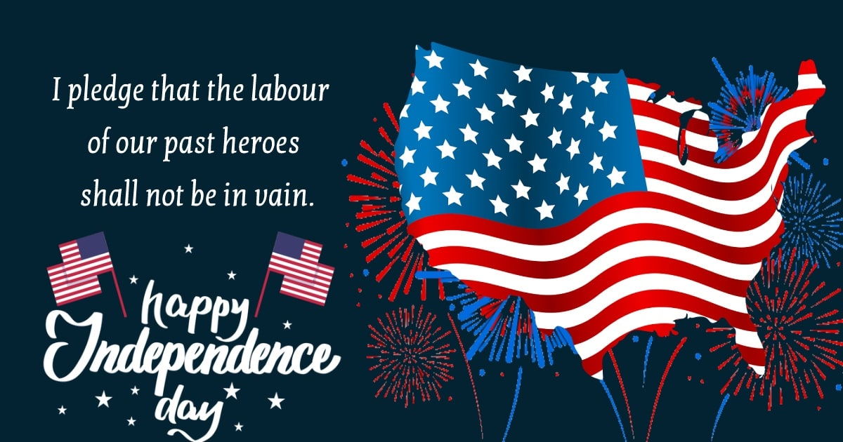 united states independence day Greeting