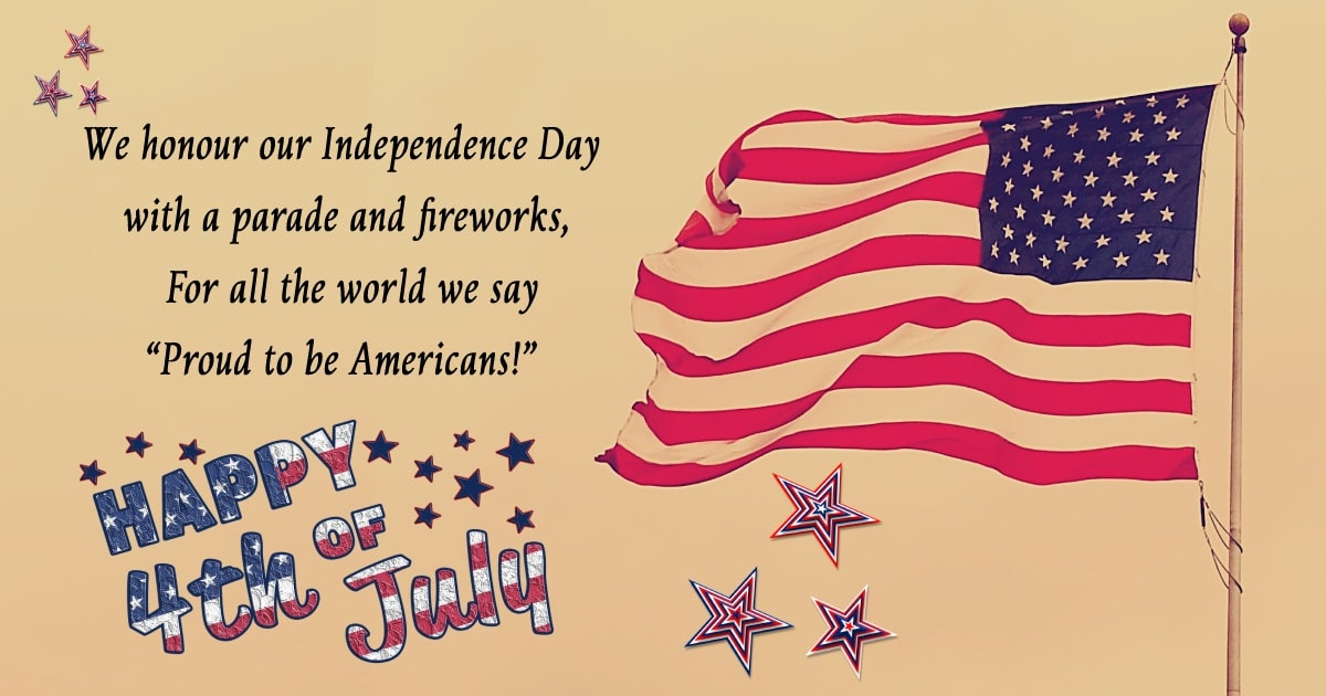 united states independence day Status