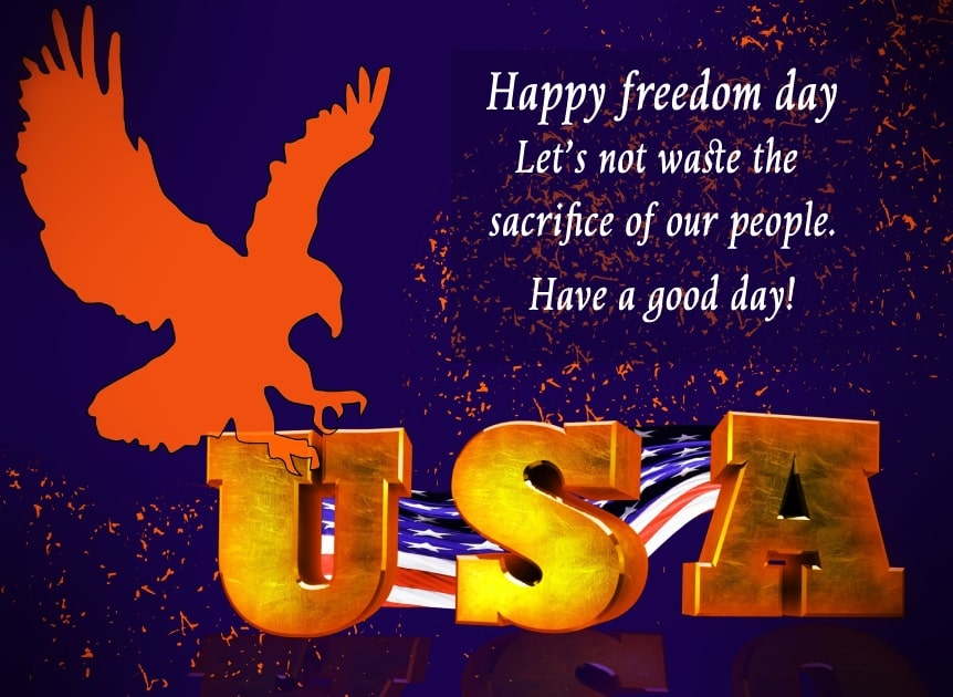 united states independence day Messages