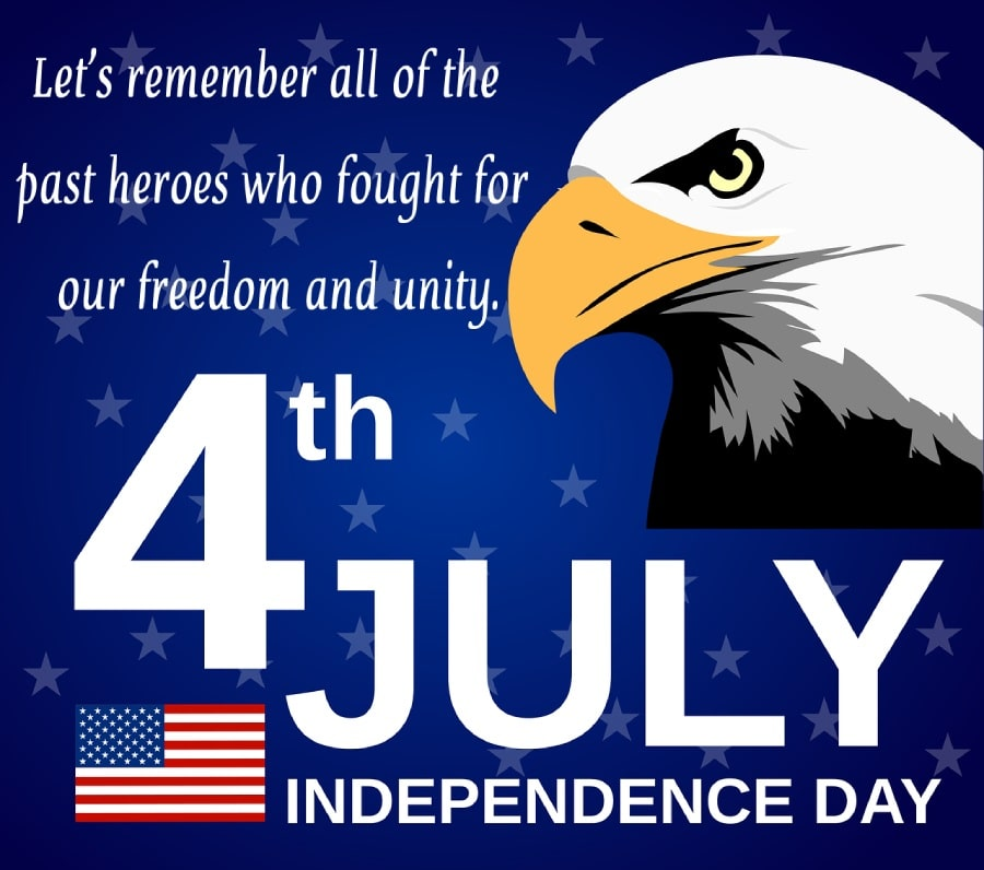 united states independence day Wishes