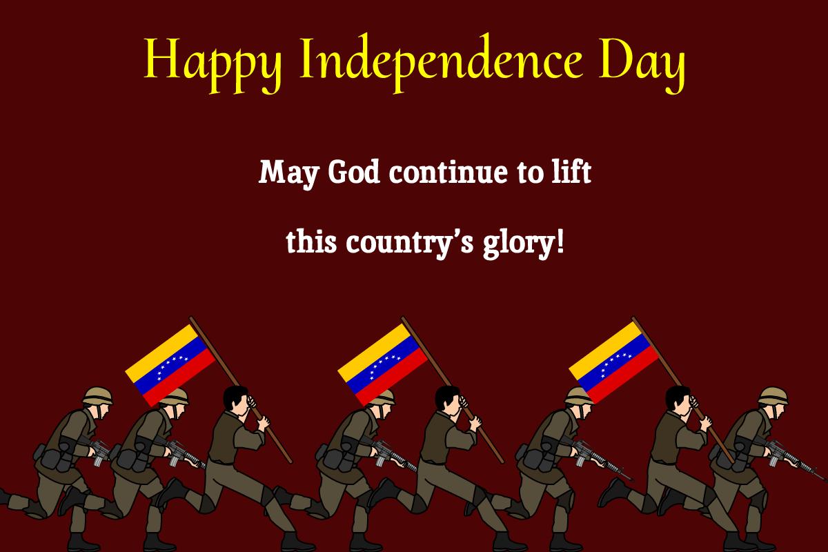 venezuela independence day Greeting