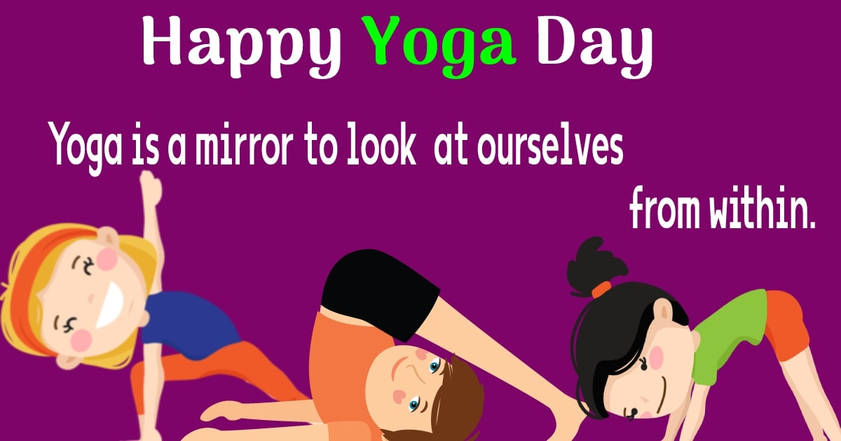 yoga day  SMS