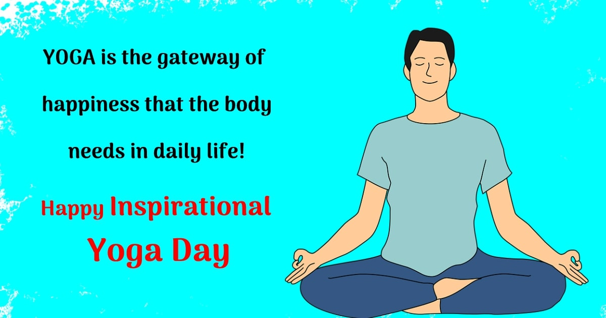 yoga day  Status