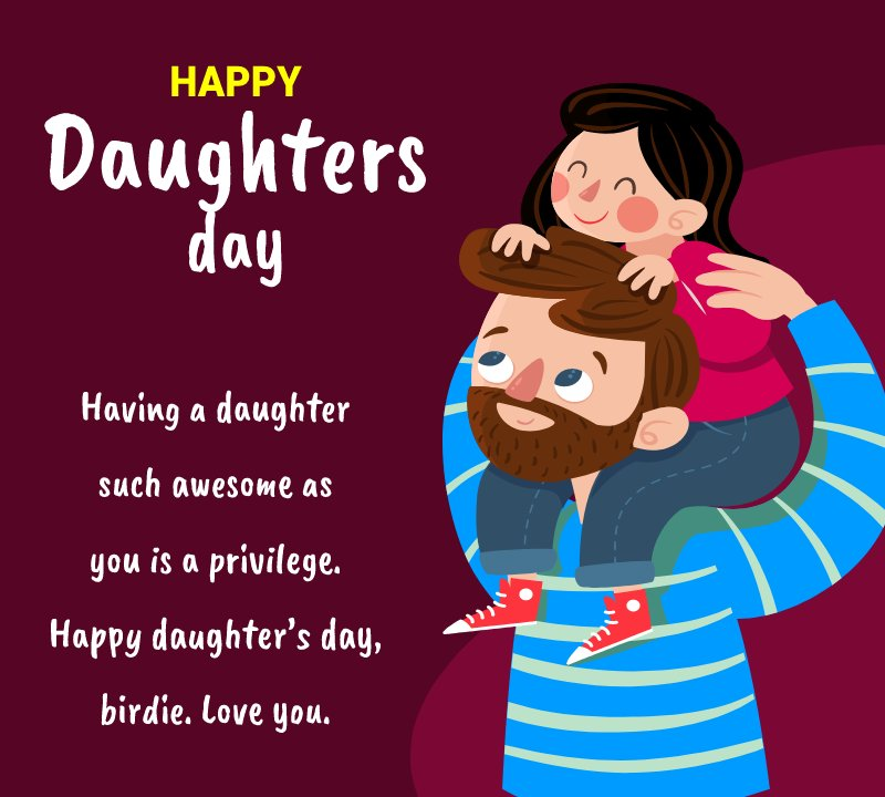Daughters Day 2021 Wishes
