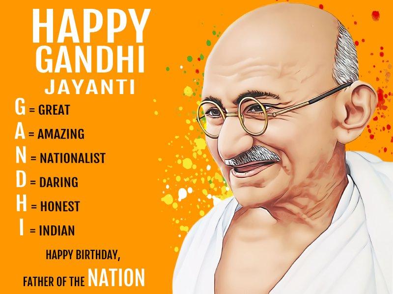 Gandhi Jayanti 2021 Wishes and Status
