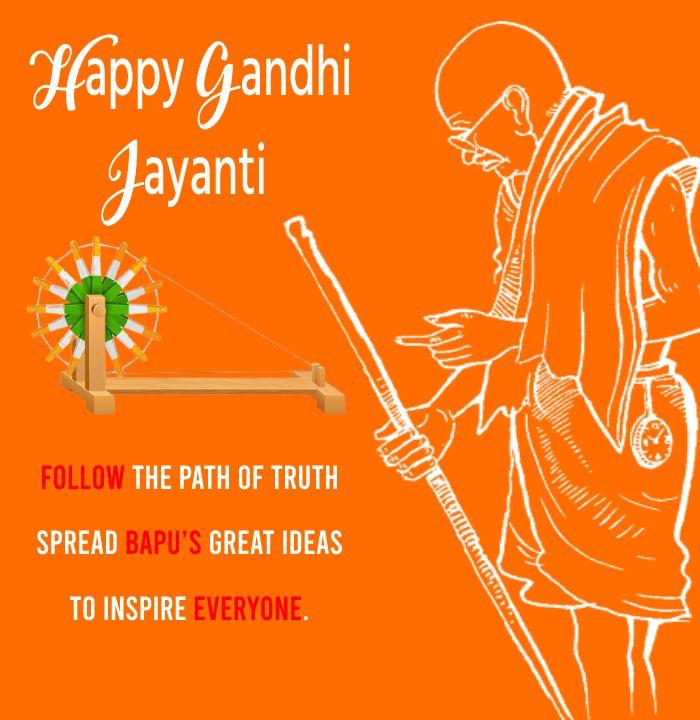 gandhi jayanti Messages