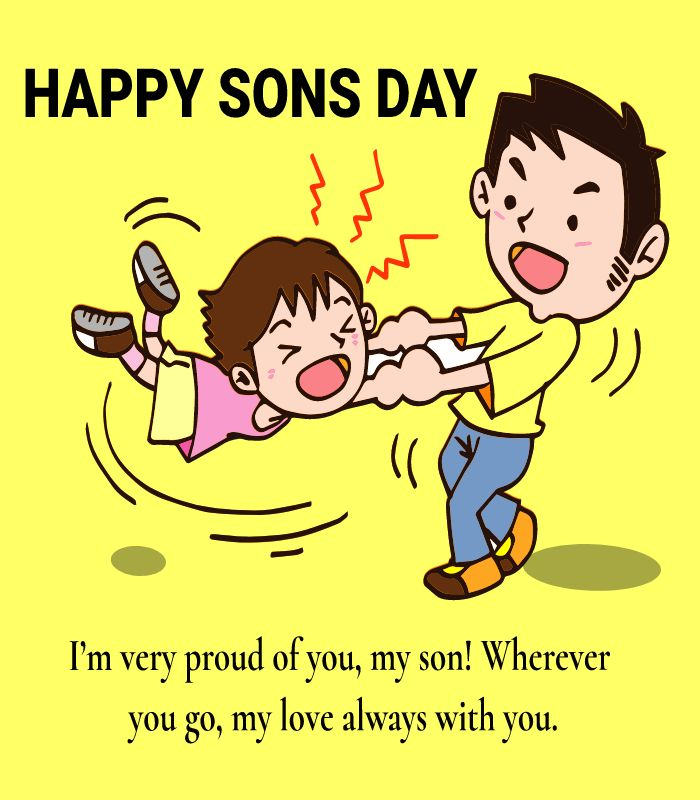 sons day  Greeting