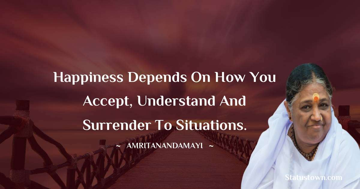 Amritanandamayi  Positive Thoughts