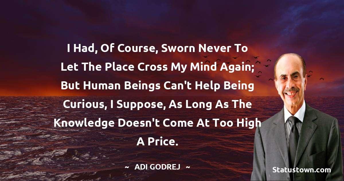 Adi Godrej Quotes images