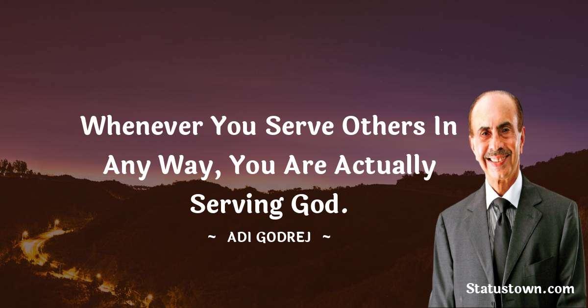 Adi Godrej Positive Thoughts
