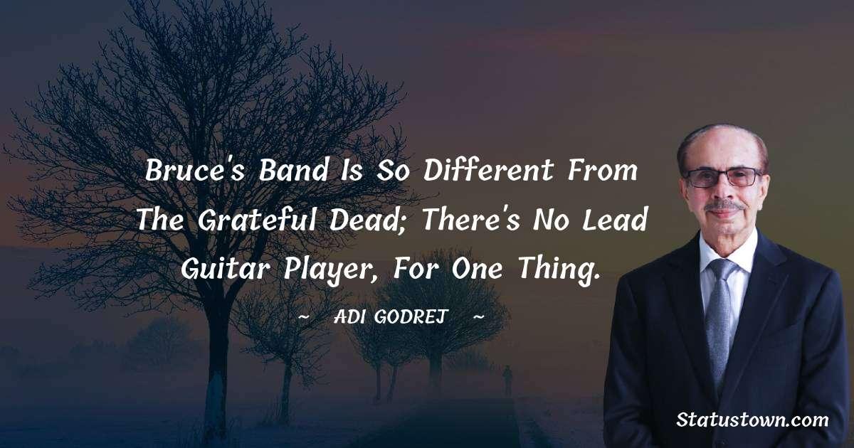 Adi Godrej Short Quotes