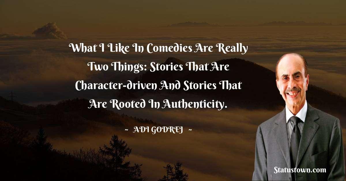 Adi Godrej Unique Quotes